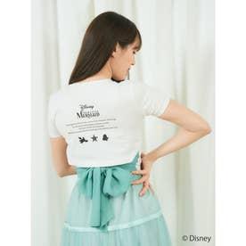 プリンセスバックリボンTシャツ (グリーン)