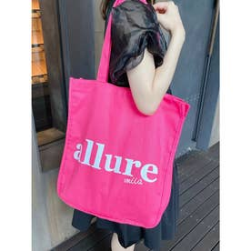 allure miiaトートバッグ (ピンク)