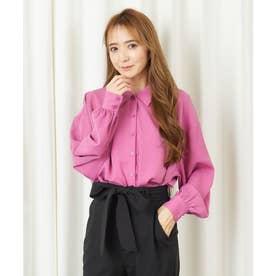 オリジナルフラワーシャツ (ピンク)
