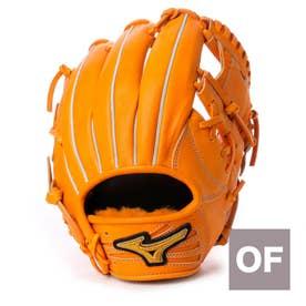ユニセックス 硬式野球 野手用グラブ ミズノプロアンバサダーモデル坂本型 1AJGH98513 MZ14 (オレンジ)