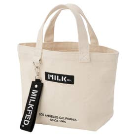 BAR AND UNDER LOGO LUNCH TOTE (ホワイト)