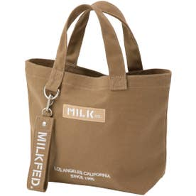 BAR AND UNDER LOGO LUNCH TOTE (ベージュ)