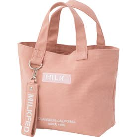 BAR AND UNDER LOGO LUNCH TOTE (ライトピンク)