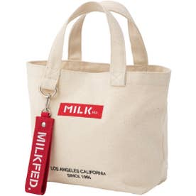 BAR AND UNDER LOGO LUNCH TOTE (A)
