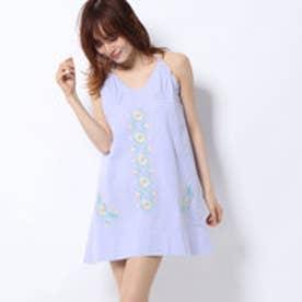 刺繍キャミドレス (LT PURPLE)