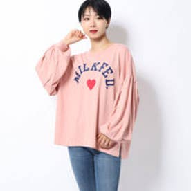 BALOON SLEEVE TOP (LtPINK)
