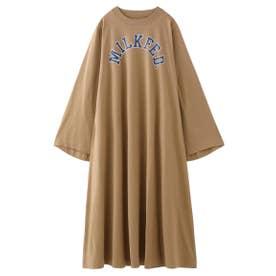 BELL SLEEVE DRESS (ベージュ)