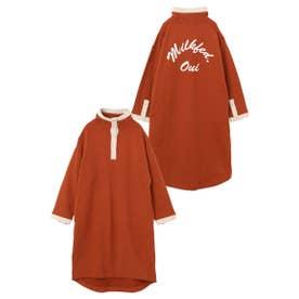 STAND COLLAR DRESS (オレンジ)