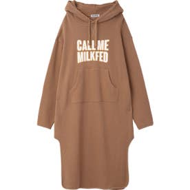 CALL ME HOODED DRESS (ベージュ)
