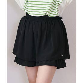 TIERED CULOTTES (BLACK)