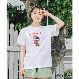 【Disney】SS TEE / MINNIE (WHITE)