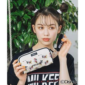 MICKEY AND MINNIE / POUCH (BLACK)