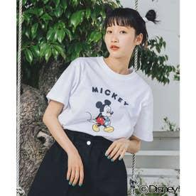 【Disney】SS TEE / MICKEY (WHITE)