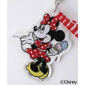 【Disney】KEY CHAIN / MINNIE (RED)