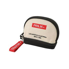 EMBROIDERED BAR COSMETIC POUCH (A)
