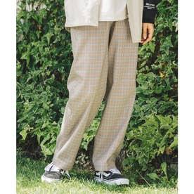 PLAID PANTS (BEIGE)