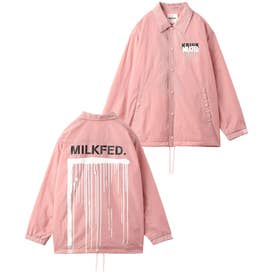 MILKFED × KRINK COACH JACKET (PINK)