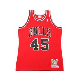 Mitchell & Ness AUTHENTIC JERSEY #23 MIC (RED)