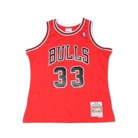 Swingman Jersey Chicago Bulls Road 1997-98 Scottie Pippen (RED)