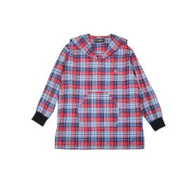 【MILKBOY】SAILOR FLANNEL SHIRTS (サックス/アカCH)