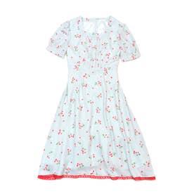 チェリーブロッサム dress (ブルーミントチェリー)