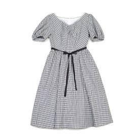 Tressy dress (ブラックチェック)