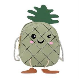 ポシェット 女の子 ベイビー 子供 キッズ 小物入れ 韓国ファッション ショルダーバッグ ミニバッグ 斜めがけバッグ 小さめ かばん (グリーン)