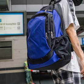 リュックサック 大容量 ユニセックス 鞄 (ロイヤルブルー)