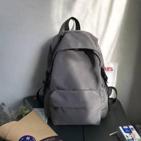 リュックサック レディースリュック A4サイズ バックパック 男女兼用 鞄 通勤 通学 バッグ (グレー)