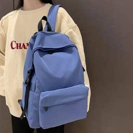 リュックサック レディースリュック A4サイズ バックパック 男女兼用 鞄 通勤 通学 バッグ (ブルー)