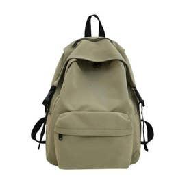 リュックサック レディースリュック A4サイズ バックパック 男女兼用 鞄 通勤 通学 バッグ (グリーン)