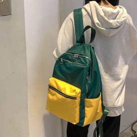 リュックサック レディース ディパック A4 大容量 バッグ 通勤 通学 鞄 マザーズバッグ おしゃれ (グリーン)