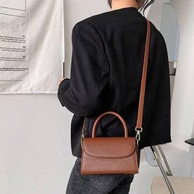 ショルダーバッグ ハンドバッグ レディース PU レザー 鞄 カバン 肩掛け 手持ち 韓国 シンプル (キャメル)