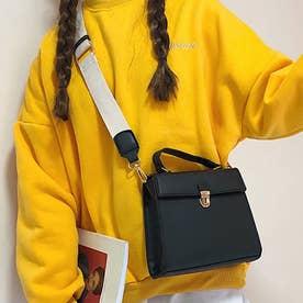 ショルダーバッグ トートバッグ レディース PU レザー 鞄 カバン バッグ 肩掛け 斜め掛け 2way クラシック (ブラック)