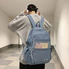 a4リュックサック レディース おしゃれ (ブルー)