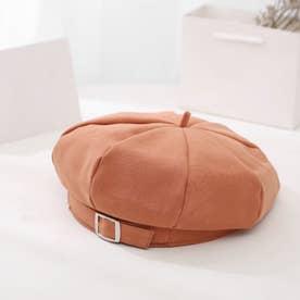 ベレー帽 レディース 季節感UP かぼちゃベレー ベーシック キャップ シンプル 帽子 カジュアル ハット帽子 可愛い (オレンジ)
