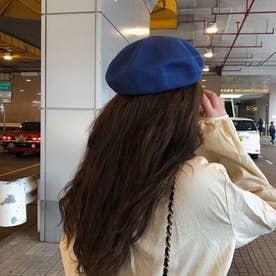 ベレー帽 レディース ベレーキャップ (ロイヤルブルー)