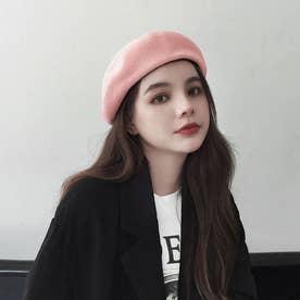 ベレー帽 レディース ベレーキャップ (ピンク)
