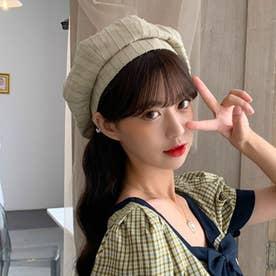 ベレー帽 レディース おしゃれ 帽子 小顔効果 シンプル ハット帽子 大人 サイズ調整 かぼちゃベレー カジュアル キャップ (ベージュ)