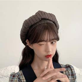 ベレー帽 レディース おしゃれ 帽子 小顔効果 シンプル ハット帽子 大人 サイズ調整 かぼちゃベレー カジュアル キャップ (ブラウン)