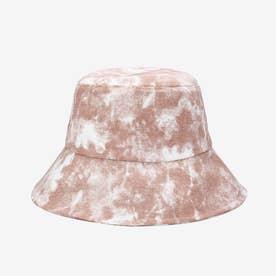 バケットハット タイダイ柄 紫外線対策 (ピンク)