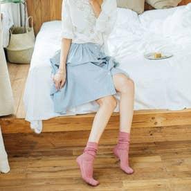 靴下 レディース おしゃれ シースルー レース ソックス 大人 ゆめかわいい (ピンク)