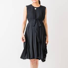 エレンナーシングドレス (ブラック)