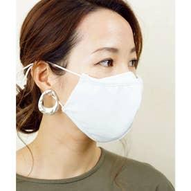 洗って使える接触冷感マチ付きマスク【返品不可商品】 (オフホワイト(1枚入り))