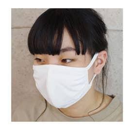 洗える立体布マスク男女兼用ファッションマスク50枚setECOMASK接触冷感 【返品不可商品】 (オフホワイト(06))