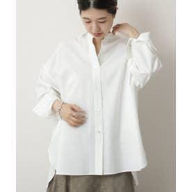 東炊き80ブロードBigシャツ (オフ白)
