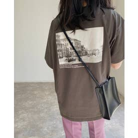 バックフォトTシャツ (スミクロ)