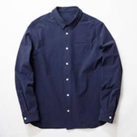 MNT 4WAY Bicolor Stretch Shirt/NAVY