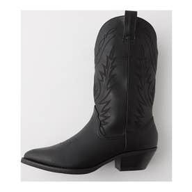 COWBOY ブーツ BLK