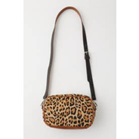 LEOPARD 2WAY POUCH (柄ブラウン)